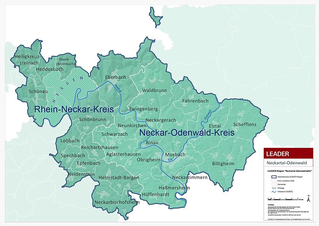 Odenwald Kreis Neckar